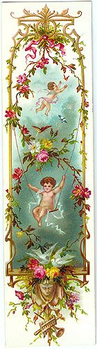 Valentines | Antique Valentines | History of Valentines..PAPER OR WOOD