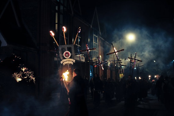 Lewes Bonfire Night by BonnieRosePhoto on Etsy, £60.00