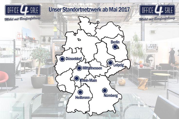 Was für eine #große #Erweiterung unseres #Netzwerks: gleich zwei #neue #office4sale #Showrooms ab dem 03.05.2017! Wir eröffnen in #Leipzig mit 325qm und in #Heilbronn mit 234qm. An beiden Standorten gibt es viele #hochwertige #Büromöbel, wie #funktionale #Bürotische, #ergonomische #Bürostühle & #Stauraummöbel, z.B. #Aktenschränke, #Sideboards und #Container. #Gebraucht und #neu (z.B. auch vom hauseigenen #Schnelllieferprogramm smart office #getmyofficesmart). Weitere Infos gibt es hier im…
