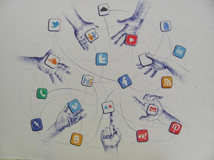 Ilustración Julio Alvarez. Un grupo aporta de manera particular con sus contenidos.  Estos se ordenan y suben a la web. Es parte de la inteligencia colectiva.