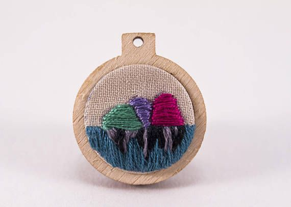 Hey, I found this really awesome Etsy listing at https://www.etsy.com/au/listing/546365833/mini-embroidery-hoop-art-with-mountains