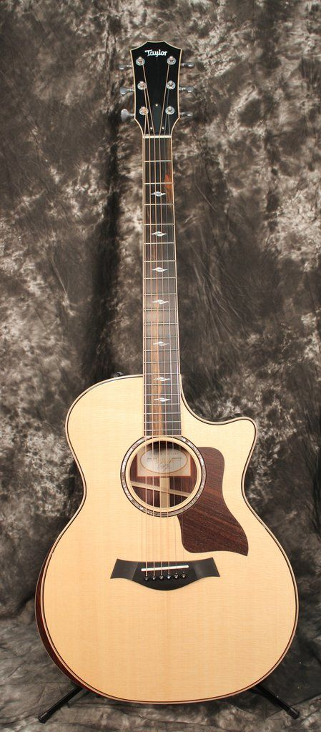 Taylor 814ce Deluxe Grand Auditorium Spruce Rosewood Acoustic Electric Guitar w/OHSC