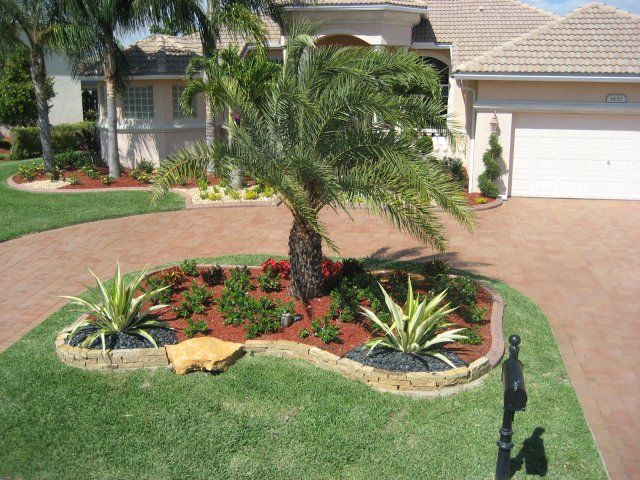 18 best images about landscaping on pinterest for Florida backyard landscaping ideas