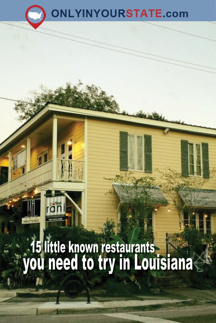 11 Unsuspecting Restaurants In Louisiana With Food