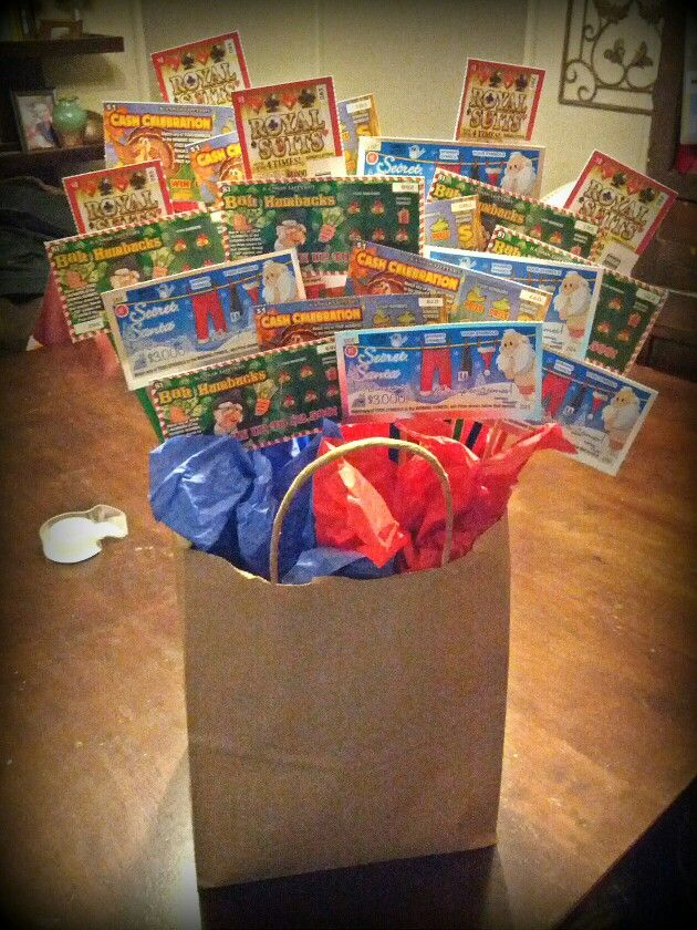 54 best Diy Lottery Tickets Gifts / Basket images on Pinterest ...