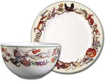 Fauna dinnerware  http://www.ingebretsens.com/scandinavian-table/dinnerware/fauna-porsgrund/porsgrund-s-fauna.html