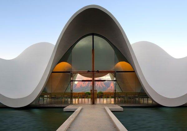 The chapel at Bosjes. Photo supplied.