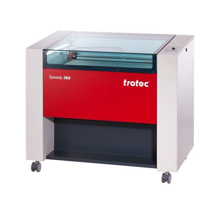 equipo láser #trotec #speedy360 mayor productividad con una mesa más grande. Para más información: http://www.framuntechno.com/product/130/1/speedy-360