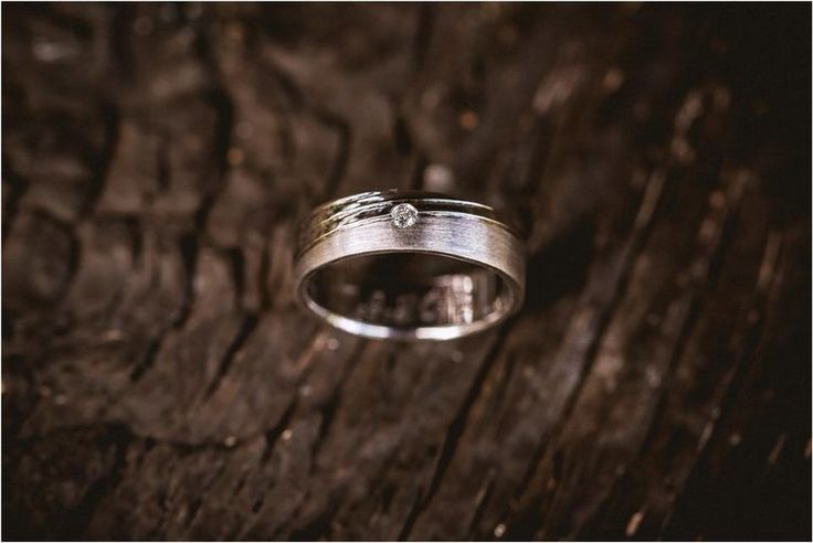 Wedding ring white gold diamond rustic wood natural #ido #gettingmarried  #wedding #bride #grom #enlopement #engaged #weddingplanner #justmarried   Nika and Grega destination wedding photographers