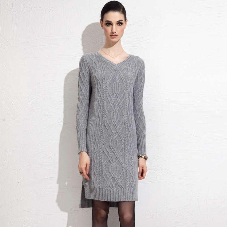 Sisjuly осень зима женщины свитер с длинным рукавом трикотажные v образным вырезом повседневная длинные стиль теплый черный серый solid осень женщины свитер купить на AliExpress