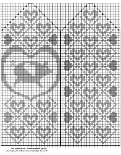 flyingpighandchart2 free mitten pattern fairisle colorwork