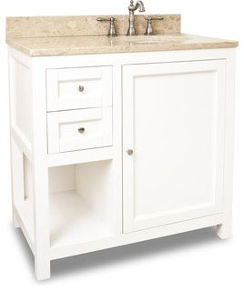 Houzz   White Vanity · White Vanity36 Inch Bathroom ...