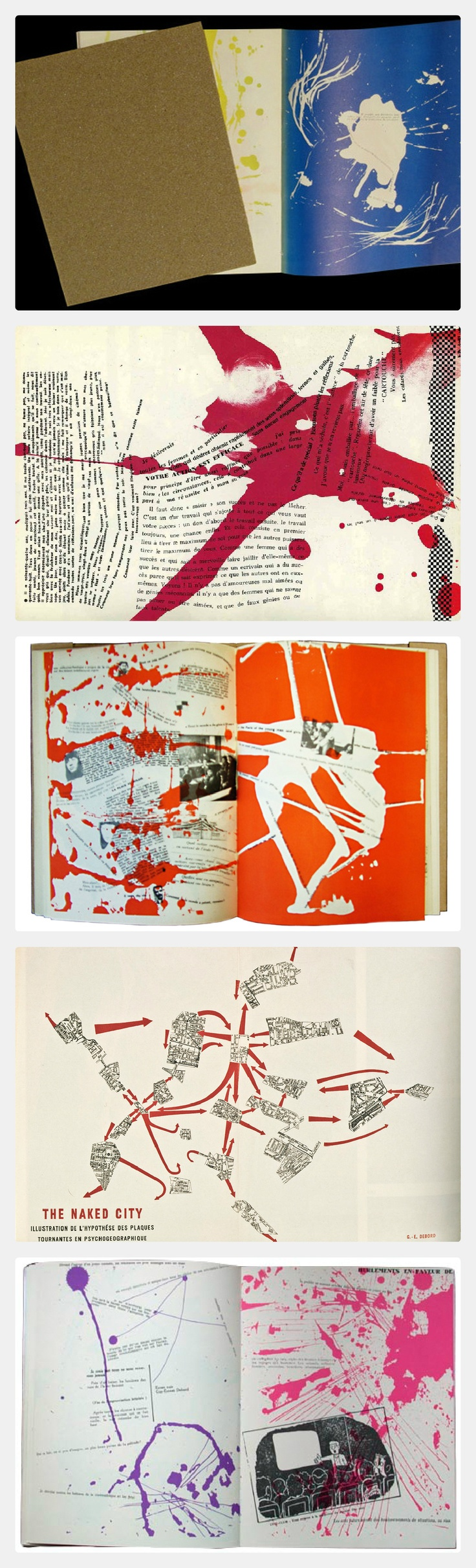 Mémoires (Memories) is an artist's book made by the Danish artist Asger Jorn in collaboration with the French artist and theorist Guy Debord. Printed in 1959, it is the second of two collaborative books by the two men whilst they were both members of the Situationist International.