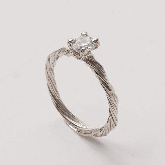 Hey, I found this really awesome Etsy listing at https://www.etsy.com/listing/160664885/twig-engagement-ring-14k-white-gold-and