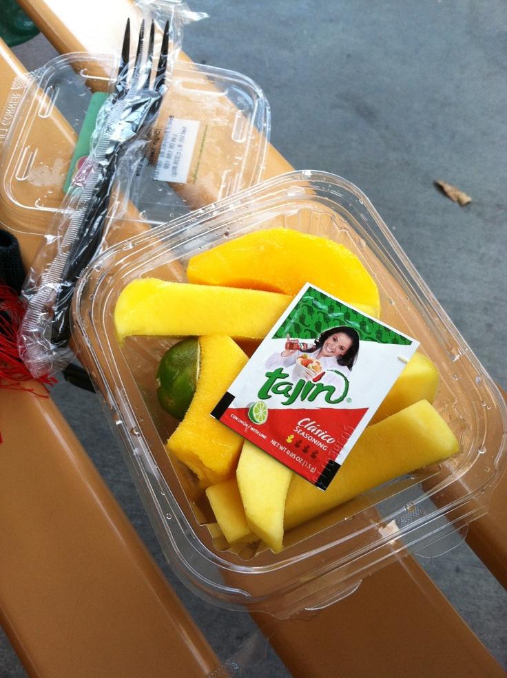DCA Mango with lime & Tajin