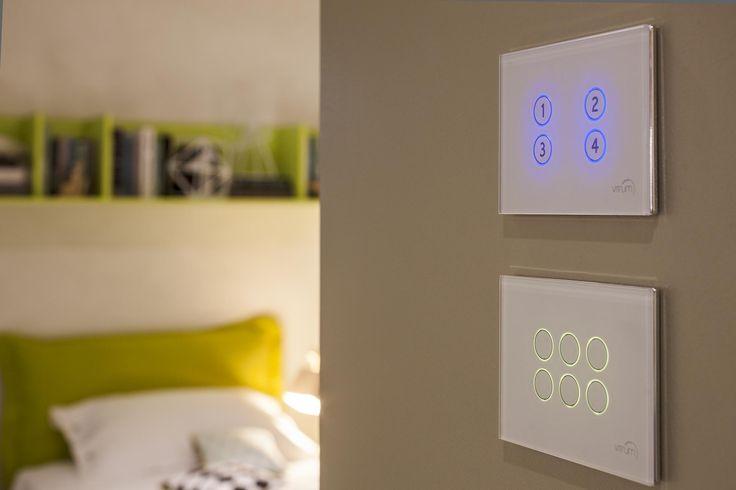 Ecodomotica semplificata: #VITRUM #HOME CONTROL by THINK SIMPLE   DESIGN MARCO PIVA