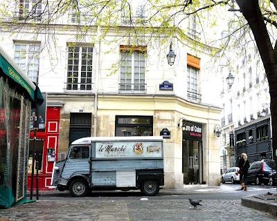 Le Marché, near place du marché Sainte Catherine, 4th arrondissement
