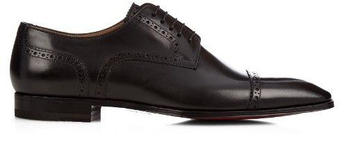 CHRISTIAN LOUBOUTIN Cousin Charles leather dress shoes