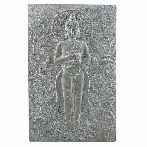 Beautiful Buddha Wall Plaque Made Of Concrete Buddha Wall Art