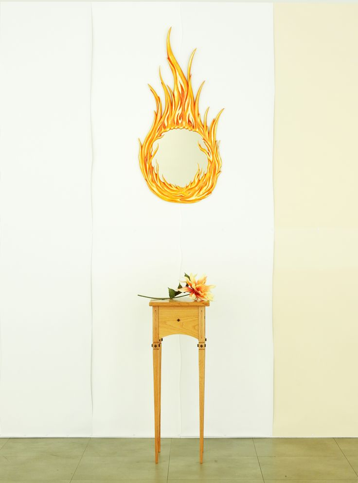 Flame Gallery art mirror...