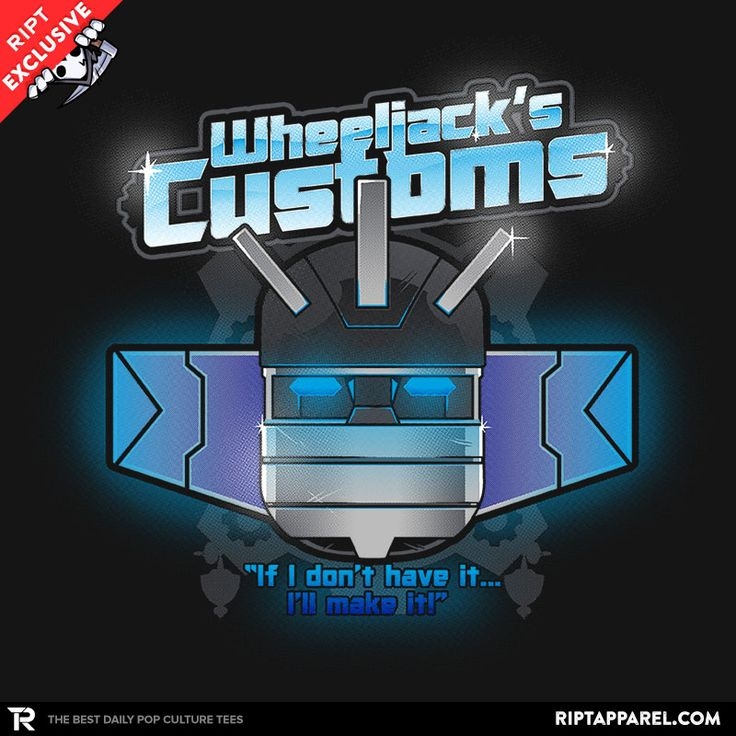 Wheeljack's Customs T-Shirt $11 Transformers tee at RIPT today only!