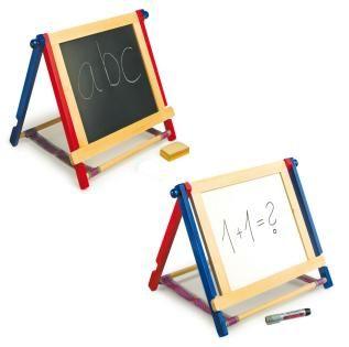 Set lavagna  Lavagna con gessetti e spugnetta. Sul retro pannello scrivibile con pennarelli solubili. http://www.giocotherapy.it/fine/411-set-lavagna-.html