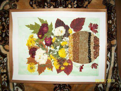 Природные поделки, поделки из природного материала, поделки из овощей. Домашняя мастерская в Теремке.