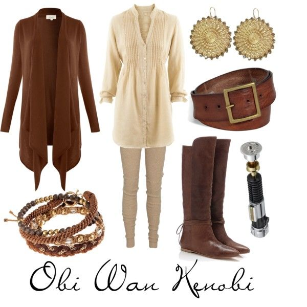 """""""Obi Wan Kenobi"""" by character-inspired-style on Polyvore"""