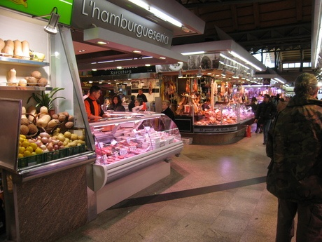 Barcelona - Mercado de Santa Caterina