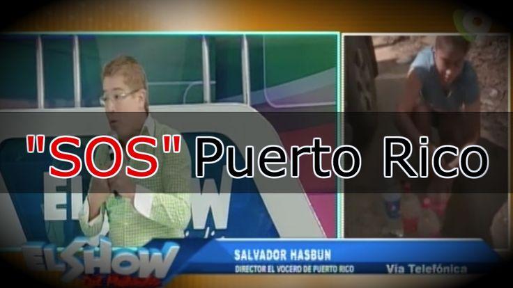Salvador Hasbun Habla Sobre La Situación Actual De Puerto Rico Tras El Paso Del Huracán María