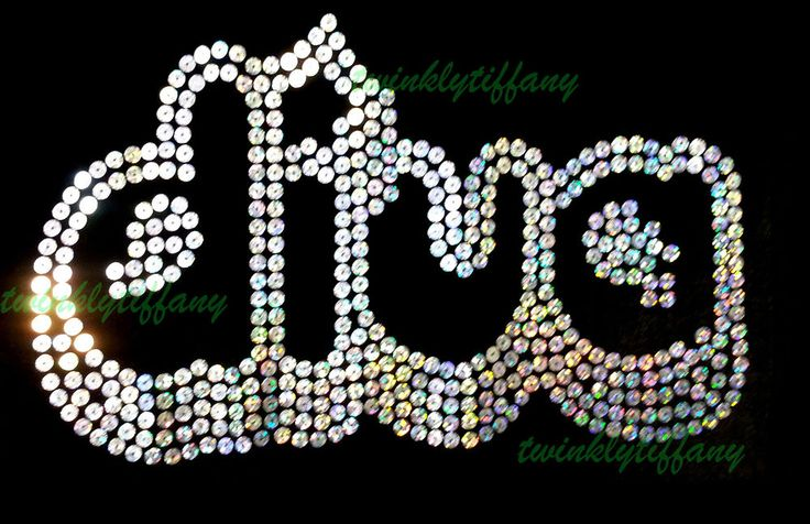 "Hotfix Rhinestone Iron on Transfer Bling ""Diva Bling Sequins"""