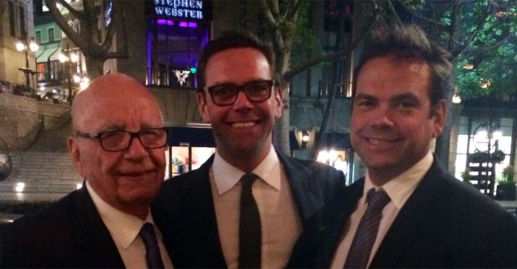 James Murdoch Reportedly Taking Over As CEO Of Fox News' Parent Company