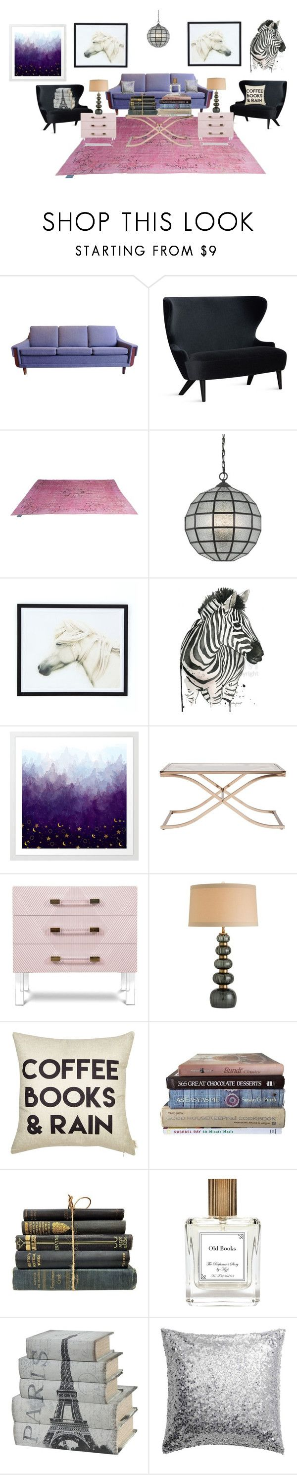 """""""The Equestrian Room"""" by paris55587 ❤ liked on Polyvore featuring interior, interiors, interior design, home, home decor, interior decorating, Tom Dixon, Arteriors and The Perfumer's Story by Azzi"""