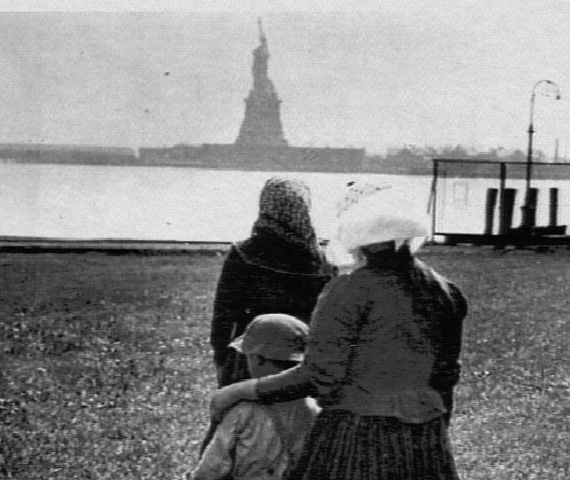 Ellis Island, in Upper New York Bay, was the gateway for millions of immigrants to the United States as the nations busiest immigrant inspection station from 1892 until 1954. Description from imgarcade.com. I searched for this on bing.com/images