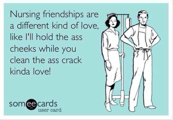 Yep! Nursing humor :) www.facebook.com/HealthWithJHoward
