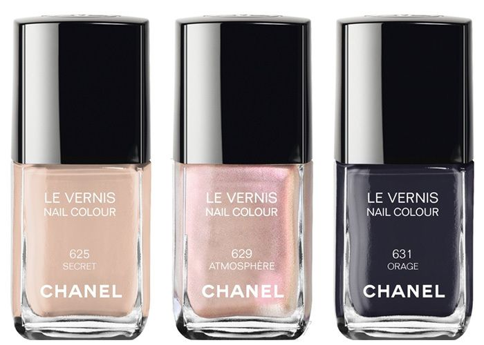 """Chanel introduces Etats Poetiques: Fall 2014 make up collection. Here are the Nail colours """"Le Vernis"""""""
