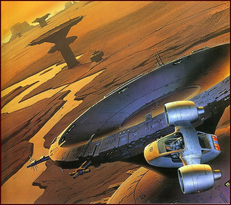 70s Sci Fi Art Chris Foss: 70s Sci-fi Art: Journeyman: The Art Of Chris Moore