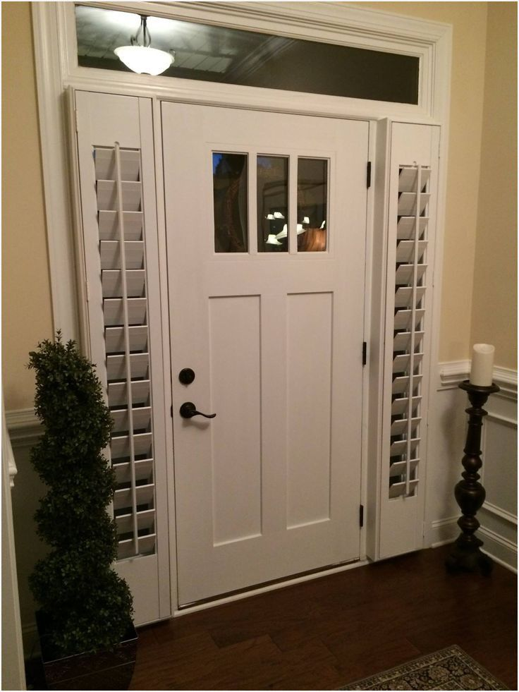 Need A Little Privacy For Your Front Door Sidelight Windows We Ca Front Doors With Windows Front Door Sidelights Sidelight Windows
