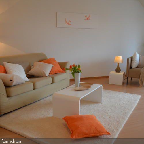 13 best Wohnen images on Pinterest Living room, Living room ideas - wohnzimmer gelb streichen