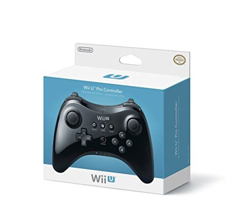 Nintendo Pro Controller Black - Nintendo Wii U, 2015 Amazon Top Rated Controllers #VideoGames