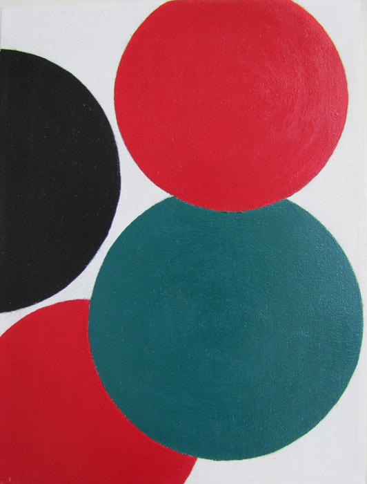 Red, Black & Green - Terry Frost