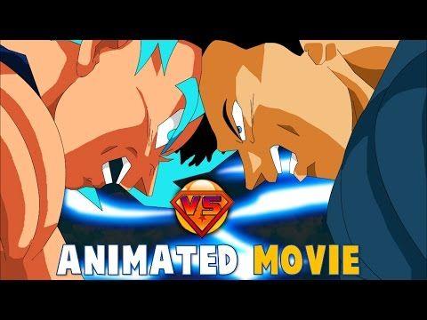 Mastar's Goku vs Superman Animated Movie - YouTube