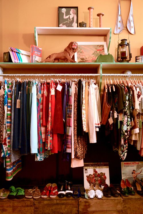 James St. has quite a few vintage shops like Lost & Found Vintage. Spend the day perusing neat clothes and accessories!