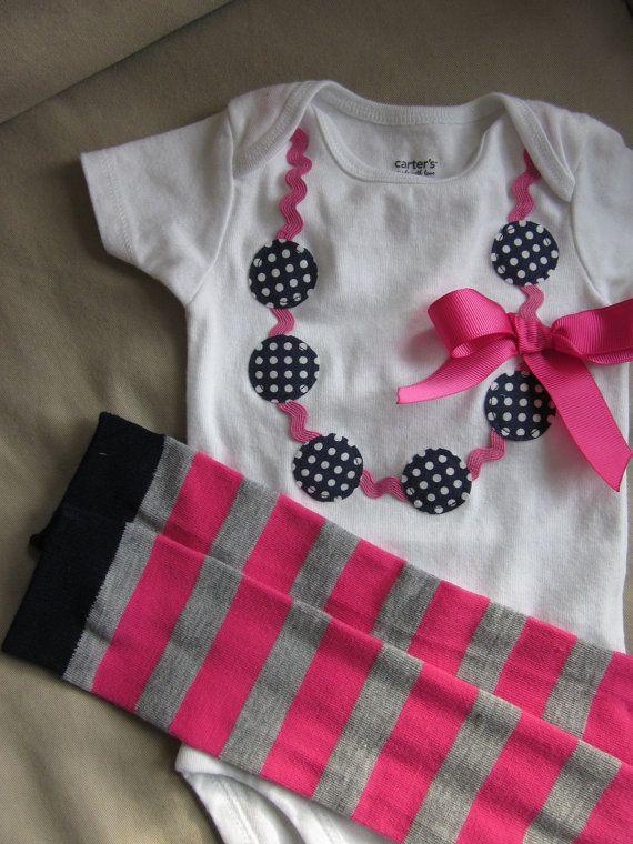 Collar apliques Enterizo para niña por TheModishLife en Etsy