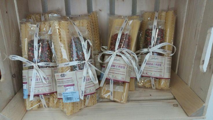 Cadeau verpakking van pasta.