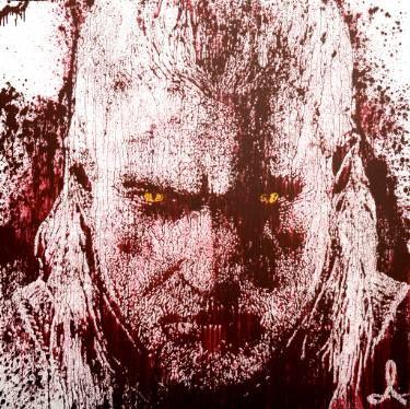 "Saatchi Art Artist Andrzej Lenard; Painting, ""The Witcher"" #art"