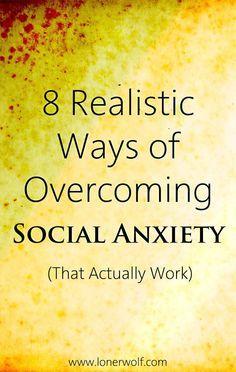 Social anxiety. --> http://lonerwolf.com/overcoming-social-anxiety/