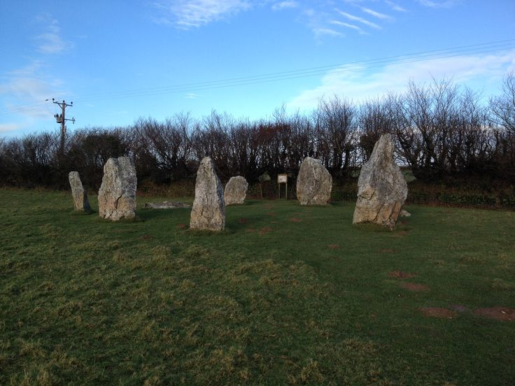 Duloe Stone circle. Taken by Lizzy of Railholiday - self catering converted railway carriages in Cornwall.