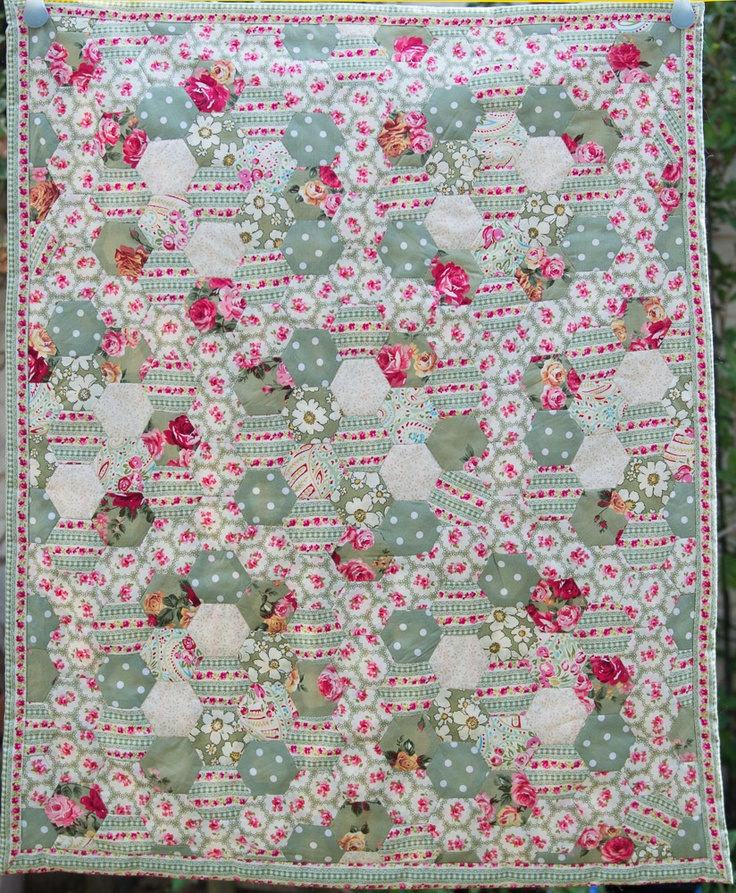 Flossie Teacakes: A new English paper piecing project