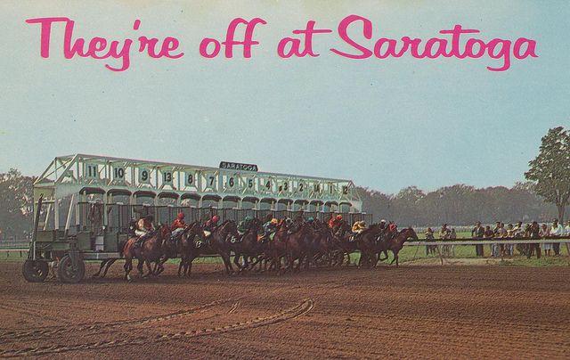Saratoga Race Track Logo | Saratoga Race Track - Saratoga Springs, New York | Flickr - Photo ...